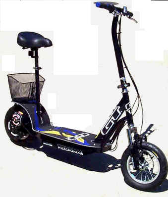 2004 GT Tsunami Electric Scooter.Long-Range , Front Suspension, Hi-Torque Power, Outstanding!