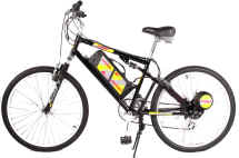 Rayos Electric Bicycle ( 8 Speed Full Suspension)-$1099 + s/h